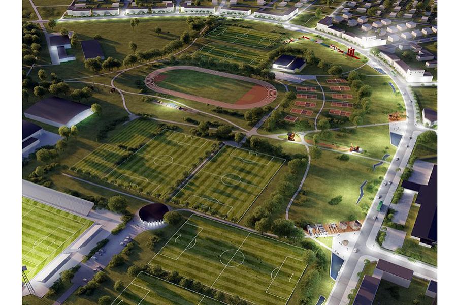 Vad händer med idrotts- och rekreationsområdet i Karlslund?