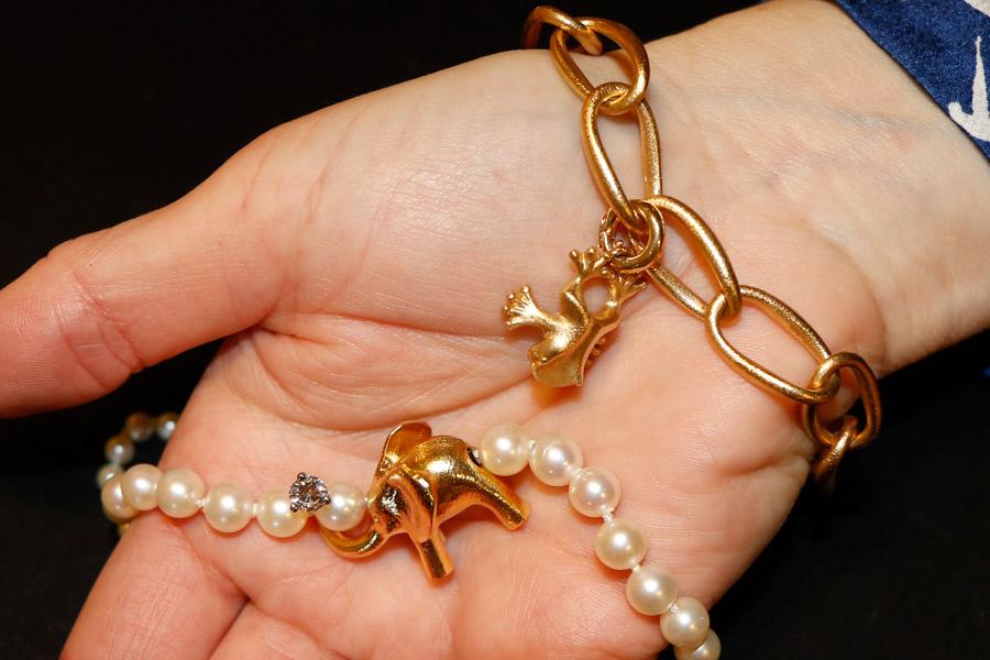 Exklusiva smycken under klubban