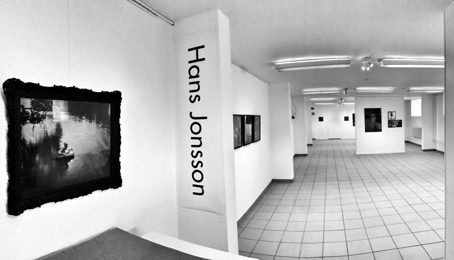 Hans Jonsson är i dagarna aktuell med en utställning på Galleri M i Eslöv.
