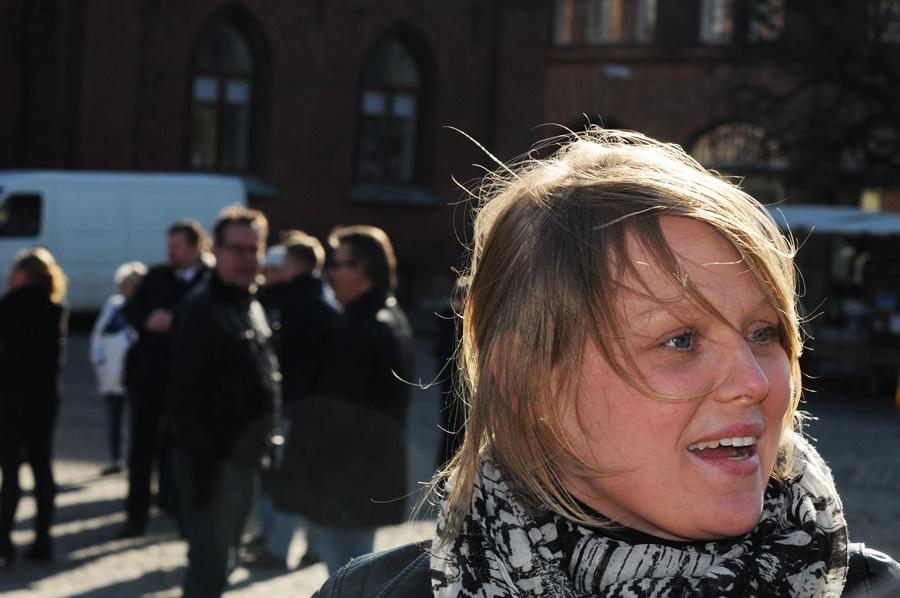 Emelie Johansson var förbannad på beslutet i Landskronahems styrelse.