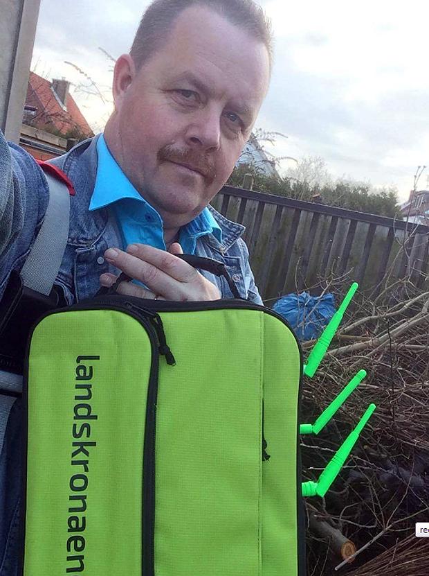 sin wifi-väska för kylda vätskor den så kallade wifi-kylen