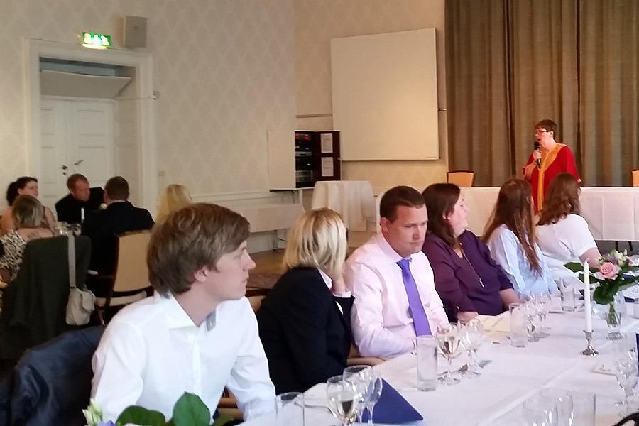 Pia Sönnichsen berättade om familjerna Bonel och Nobel.