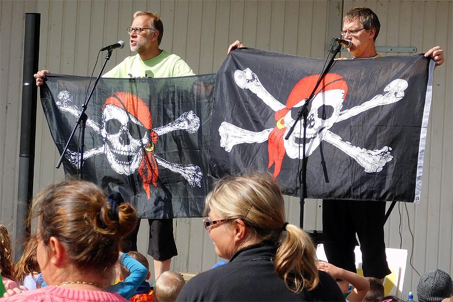 Pirater och krabbor i sikte. Foto: Natalie Hultgren.