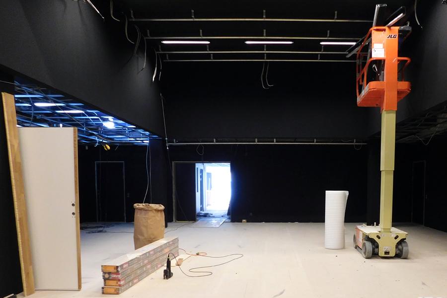 Kulturskolan kommer att ha en så kallad blackbox i lokalerna, det vill säga en scen där musik och teater kan framföras. Foto: Natalie Hultgren.