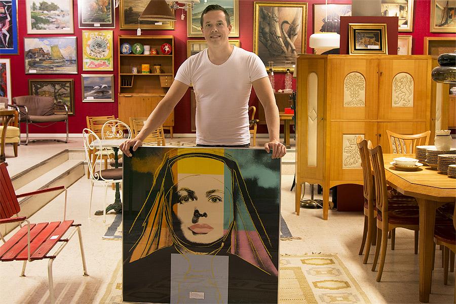 Popkonst i världsklass på auktion
