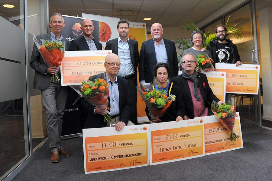 Sju Landskronaprojekt får stipendier