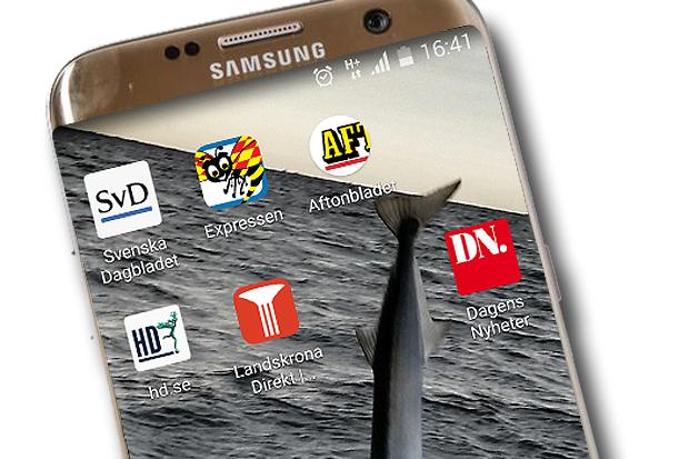 Du vet väl att du kan ha Landskrona Direkts ikon på din hemskärm i mobilen.