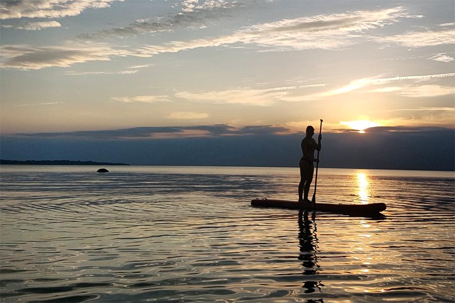 Upplev Landskronakusten till havs