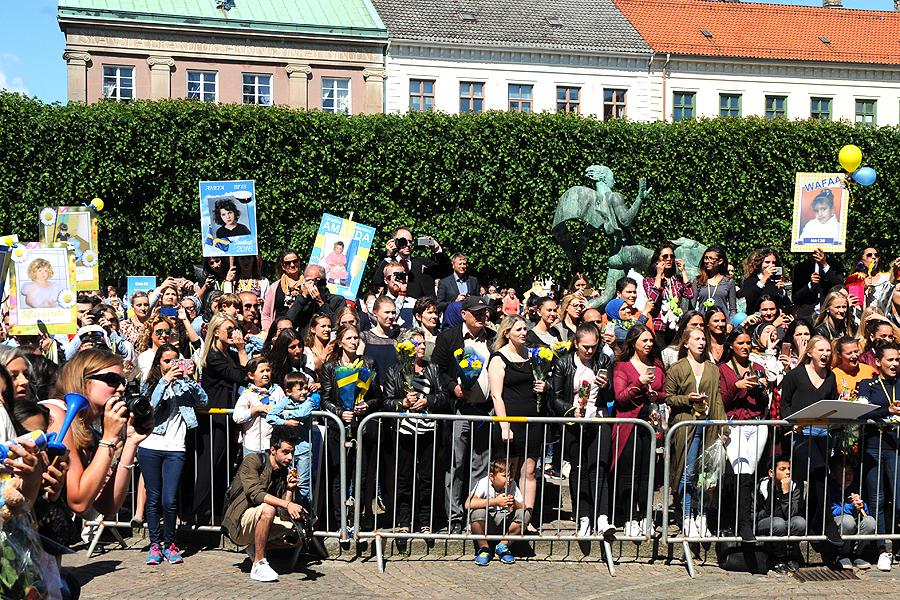 Öresundsgymnasiets 100 första studenter