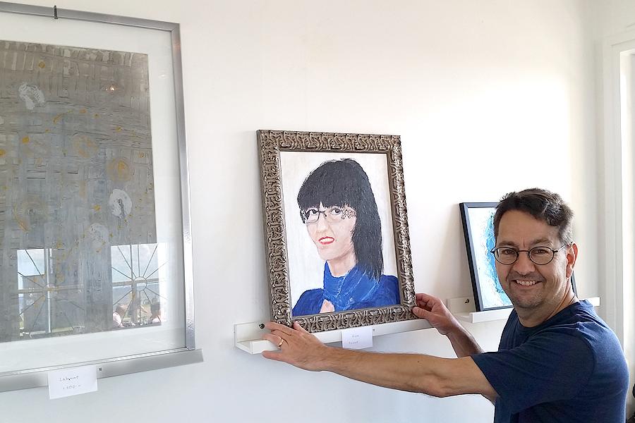 Krogväggar det nya galleriet