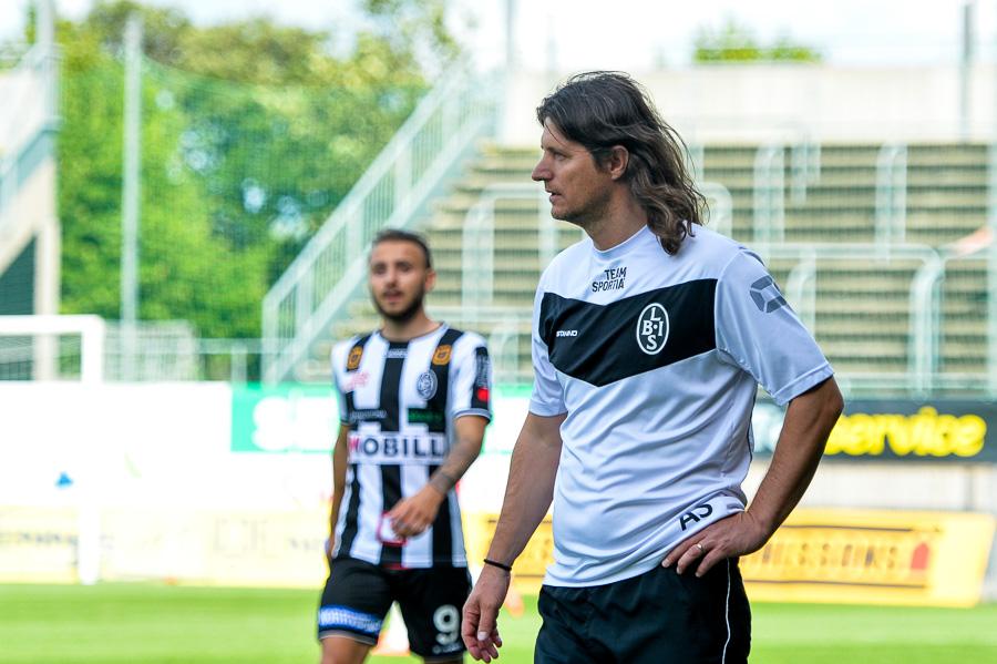 BoIS tränare Agim Sopi var mycket besviken efter årets första hemmaförlust. Foto: Ulf Bjarke, Foto261.se