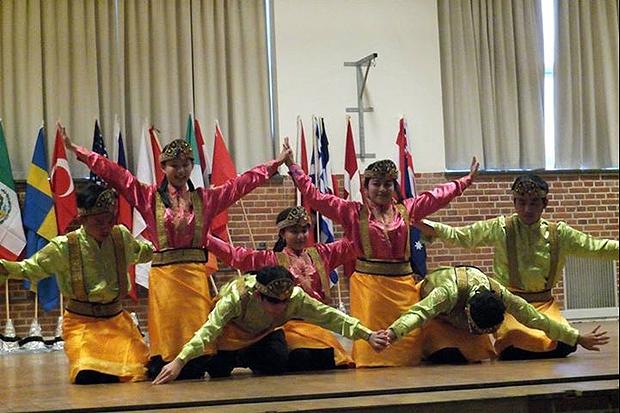 Taiwan bjuder på dans. Foto: Bozena Kurzeja.