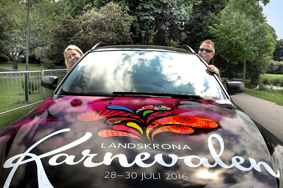 Lena Bergkvist och Dennis Westerberg styr mot en ny karneval.