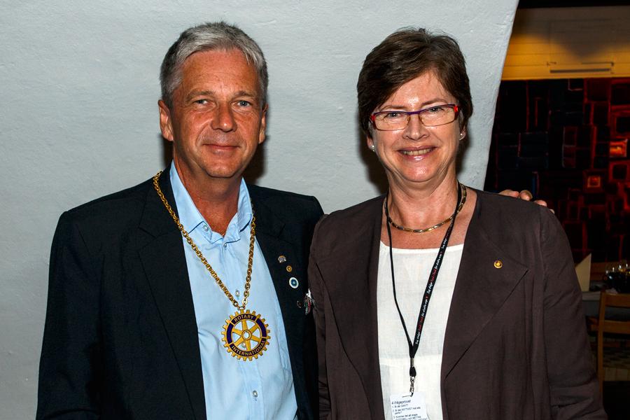 Presidentskifte i Rotary