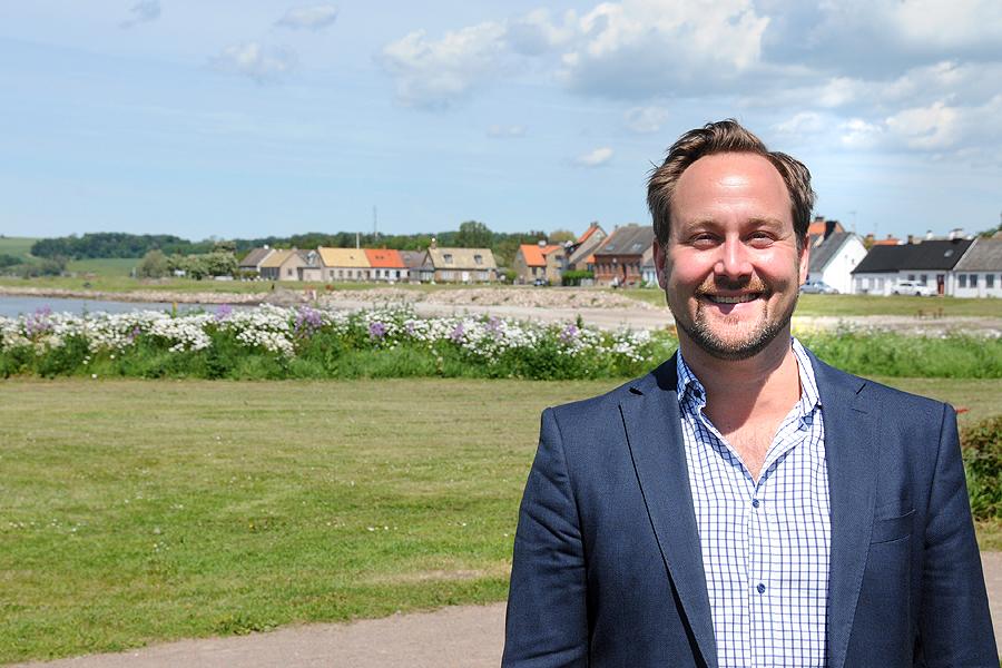 Planchef Johan Nilsson är först ut när Borstahusens Museiförening inleder höstens föreläsningsserie.