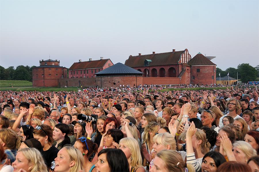 Få platser är vackrare att arrangera en konsert på än Landskrona Citadell. Men i år har publiken svikit och den senaste årens arrangör har tröttnat.