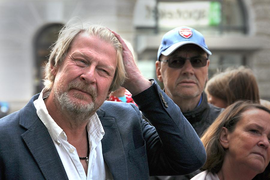 Rolf Lassgård trivs i Landskrona.