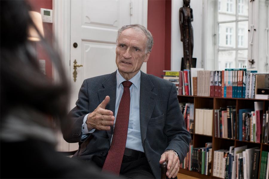 Danmarks kulturminister på besök