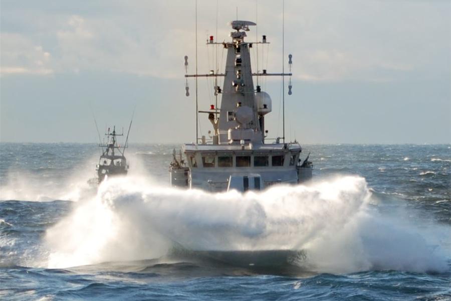 1 september kommer Ven få ett ovanligt besök av minröjningsfartyget HMS Ven av Koster-klass.