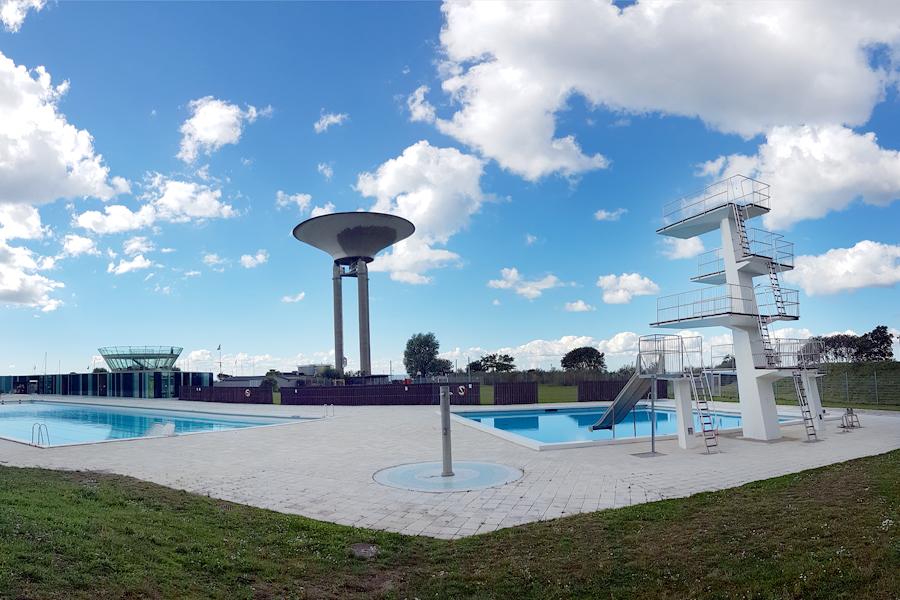 I avvaktan på ett nytt kallbadhus kommer Citadellbadet åter vara öppet för vinterbadare.