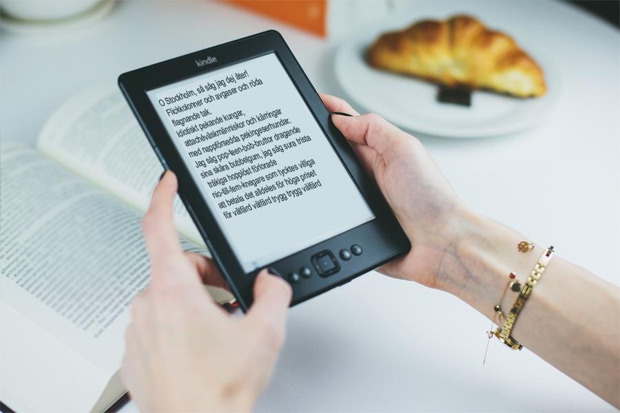 Synsvaga ska lockas ladda ner e-böcker