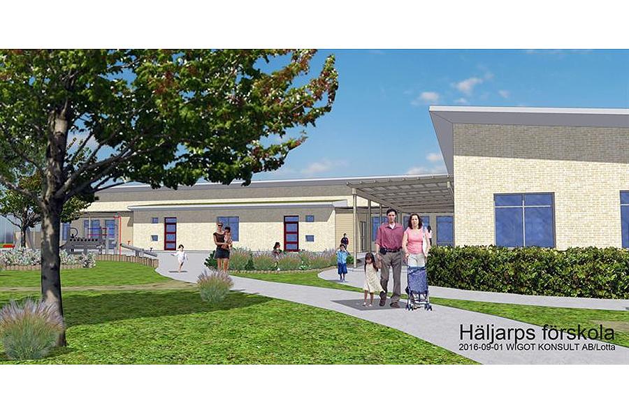 Ny förskola i Häljarp – en i raden av skolsatsningar