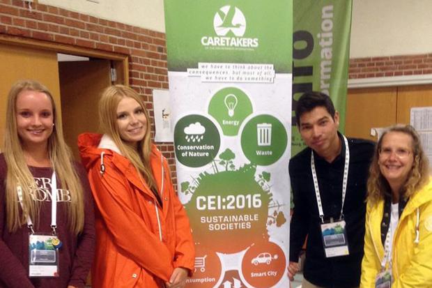 Elever om sitt besök på miljökonferens