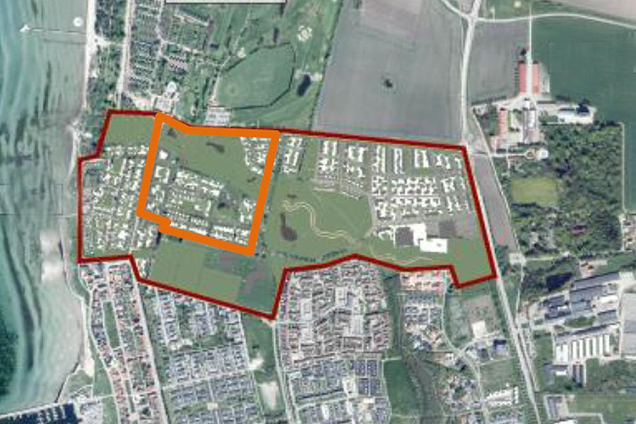 Planer för 550 bostäder smids för Strandstaden