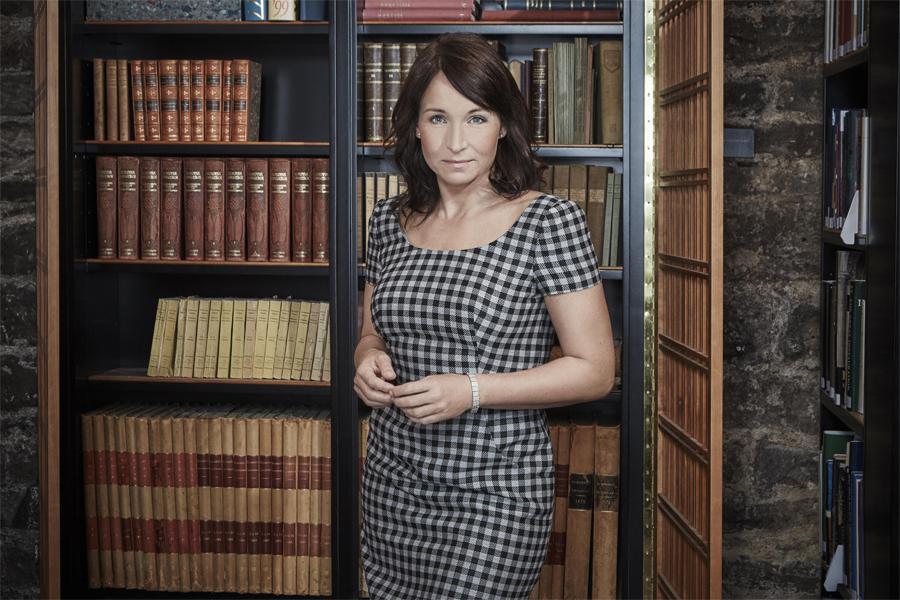 Martina Haag gästar biblioteket