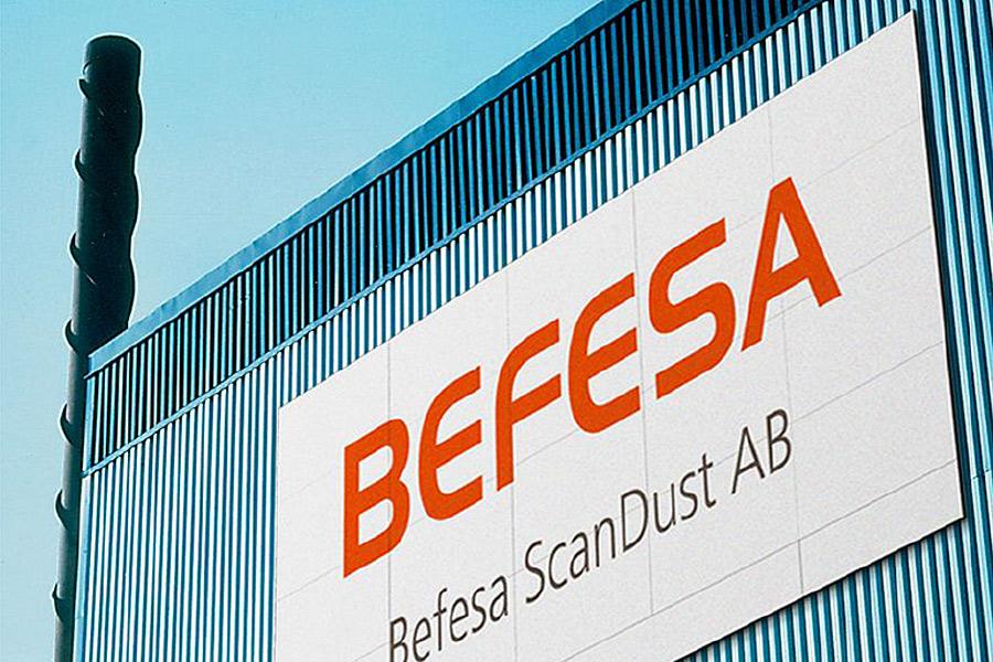 Driften på Befesa Scandust kan vara igång om en månad
