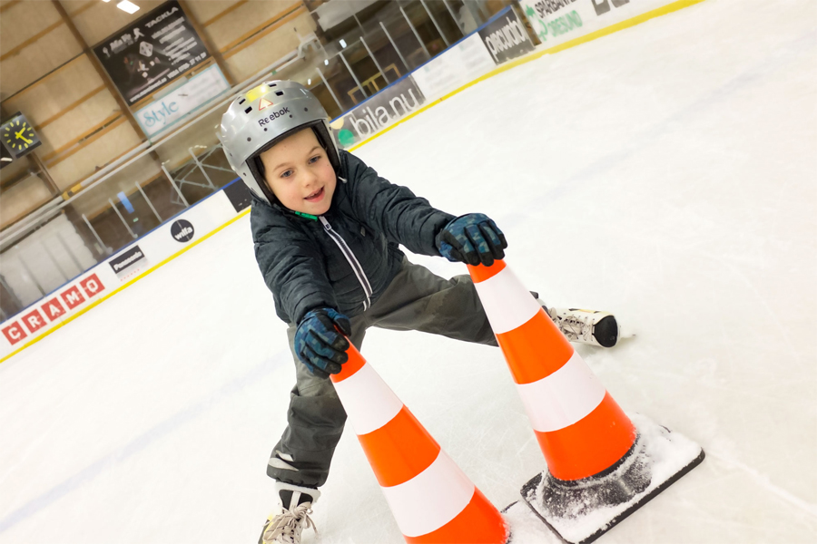 Ishallen har öppnat för säsongen