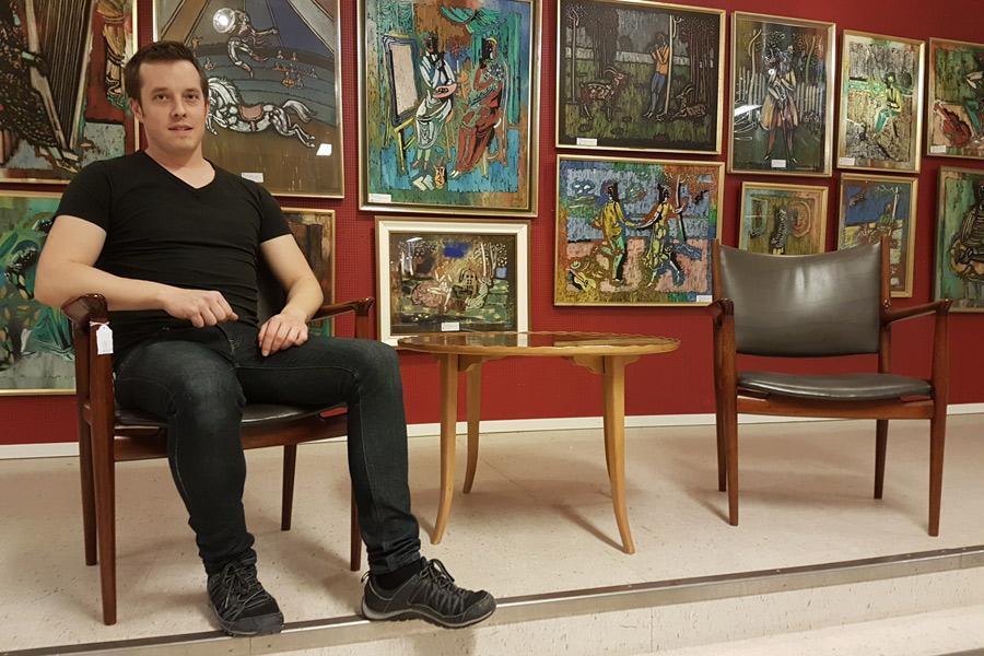 Unik konstsamling går under klubban