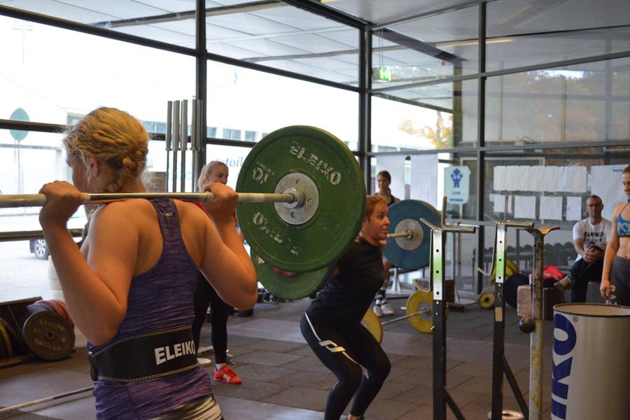En träningshelg tillsammans med en annan klubb är något som tjejerna i LAK kan rekommendera.Foto: Marie Brodin.
