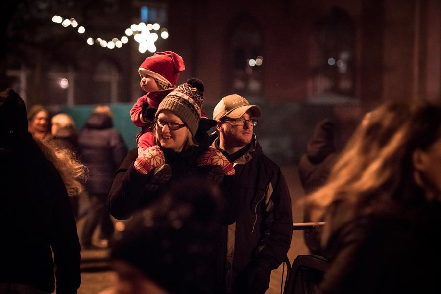 Glada miner och mysigt på stan. Foto: Josefin Larsson.