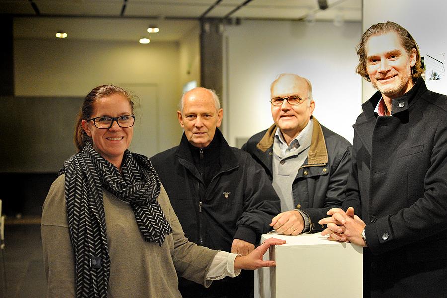 Annette Sergel, Ulf Roos, Leif Arnsby och Ulf Svensson sätter sin prägel på stadsbilden där mellanrummen mellan husen inte minst är viktiga.