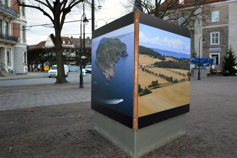 Fotoutställningar en del av stadsmiljön