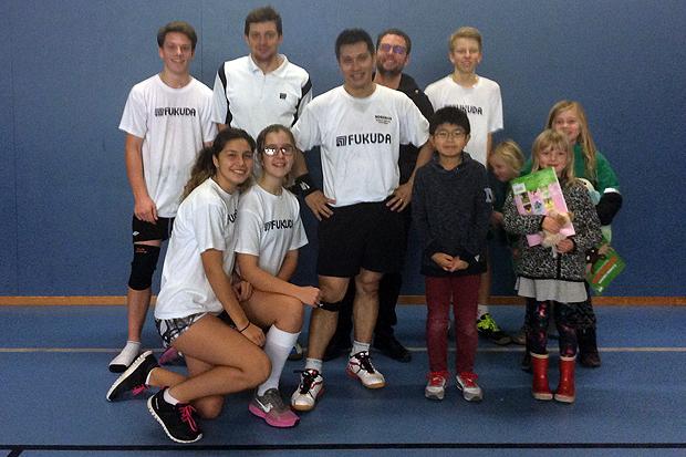 Full pott för badmintonklubben