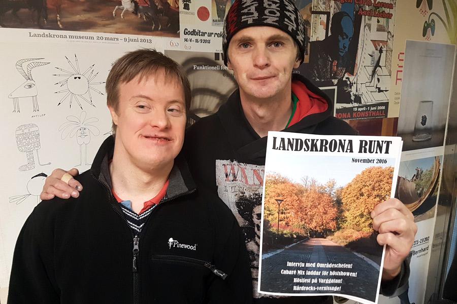 Årets sista nummer av Landskrona Runt ute