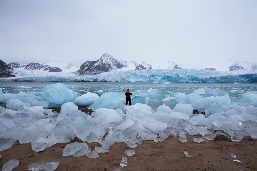 Om polarforskning och fotografi handlar söndagens föreläsning på Landskrona Museum.