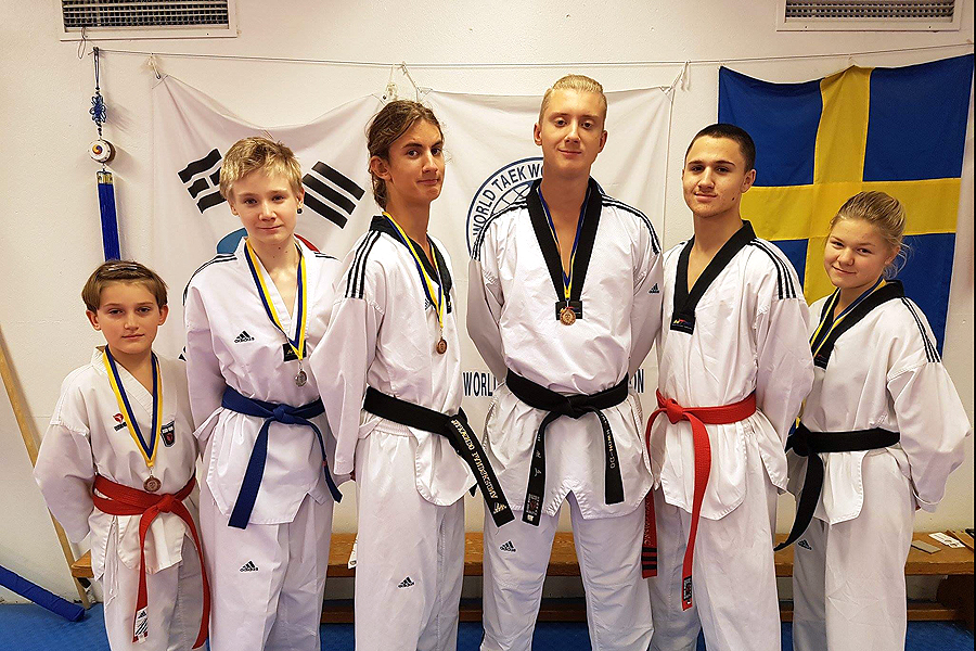 Ny generation taekwondoutövare på gång