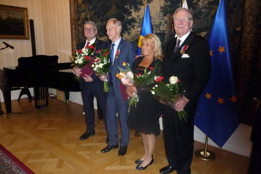 Polens president på statsbesök belönade Landskronit