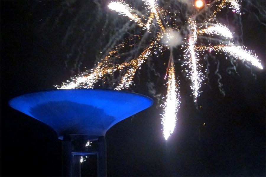 Staden bjuder på fyrverkeri på nyårsafton