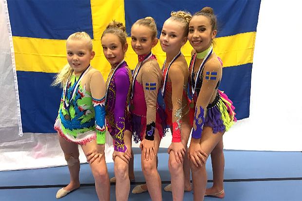 Nya framgångar för rytmiska gymnaster