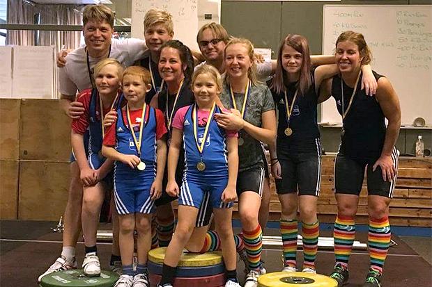 Luciatävling på Landskrona Atletklubb