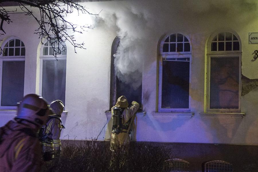 Stor oro efter bränderna på Anniegården