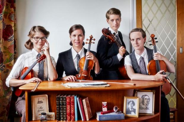 Vindla String Quartet spelar i Landskrona