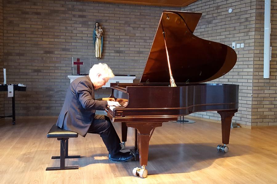 Fullsatt när pianomästare gästade Landskrona