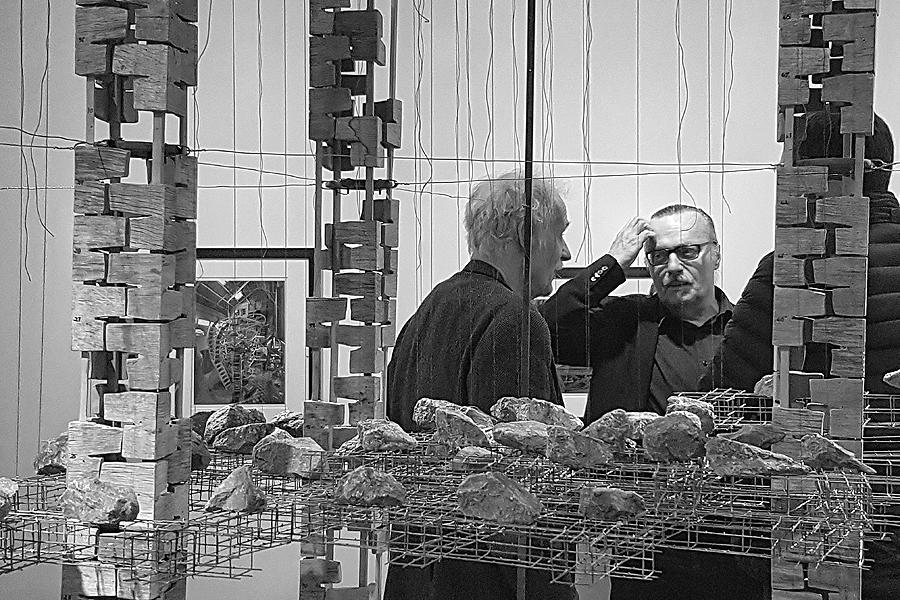 Kleen och Smoliansky på museet