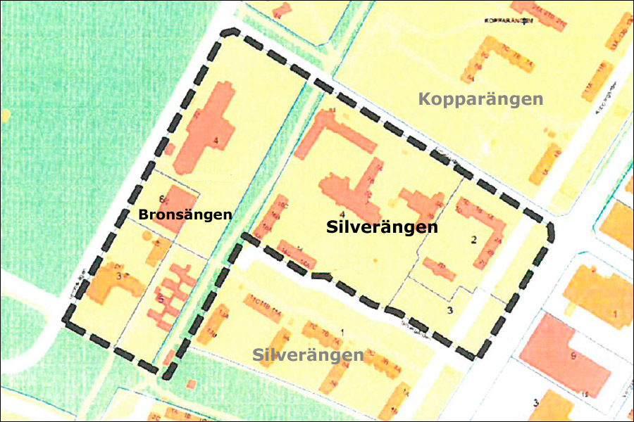 Landskrona stad, Landskronahem och Hemsö ska planera för Bronsängen samt den nordöstra delen av Silverängen.