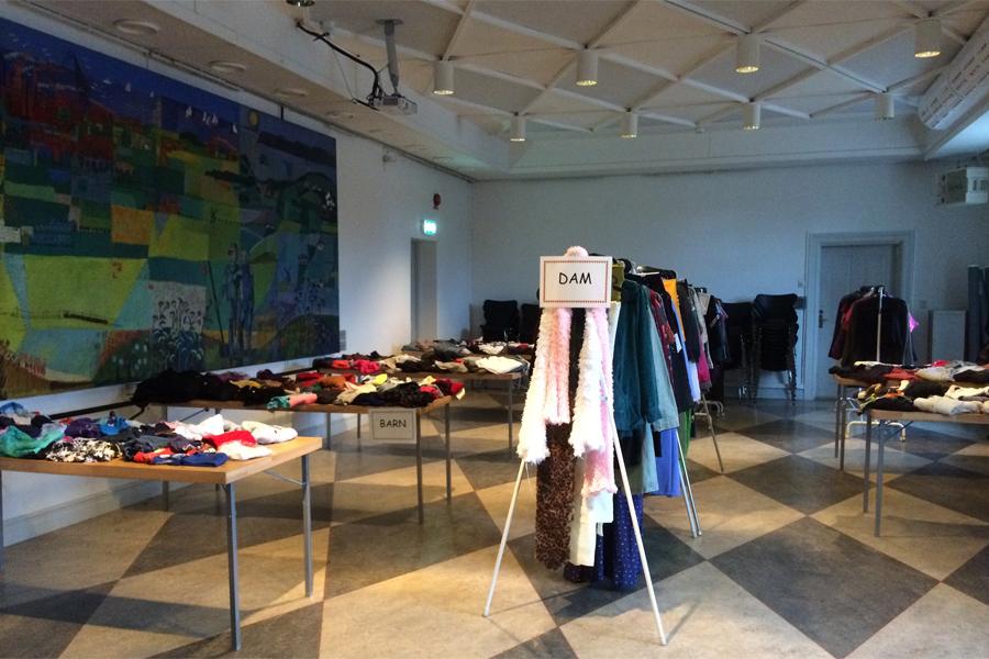 Klädbytardag på museet